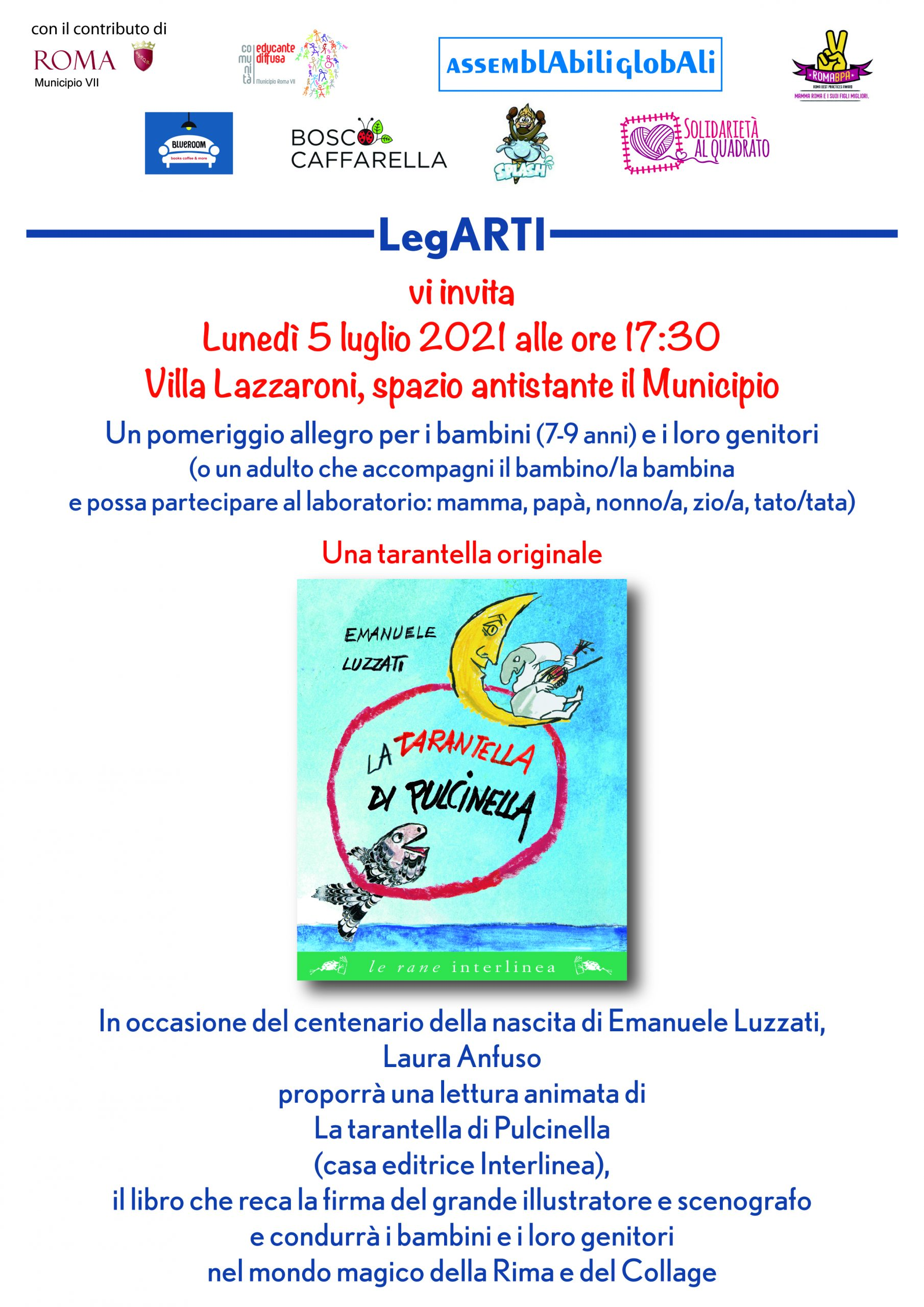 Read more about the article 5_07_21 Lettura animata