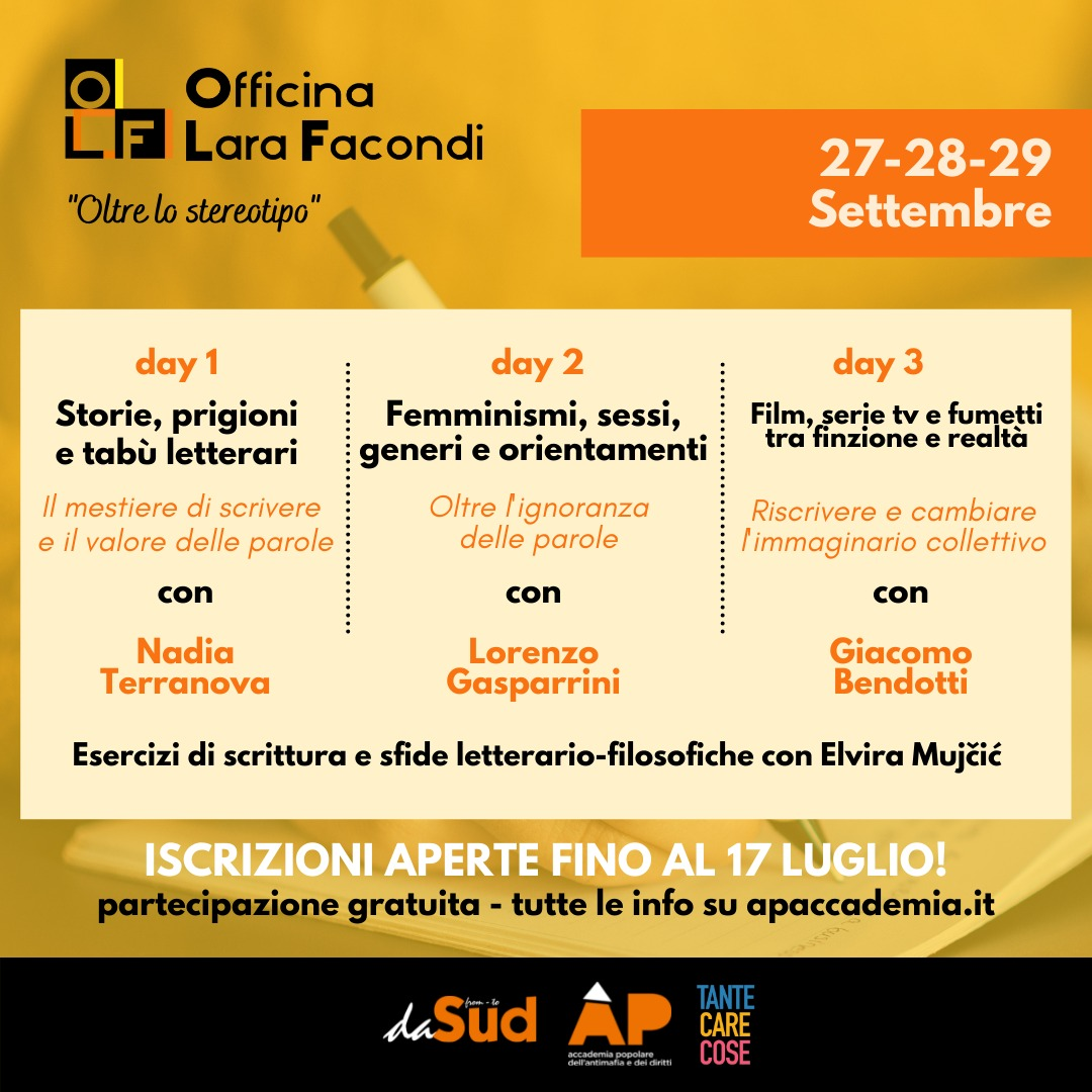 """You are currently viewing """"Oltre lo stereotipo"""" – Officina Lara Facondi"""